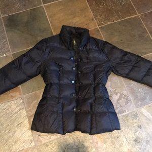 ADD black down jacket lightweight